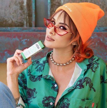 Brittany Furlan promoting TerraVita CBD