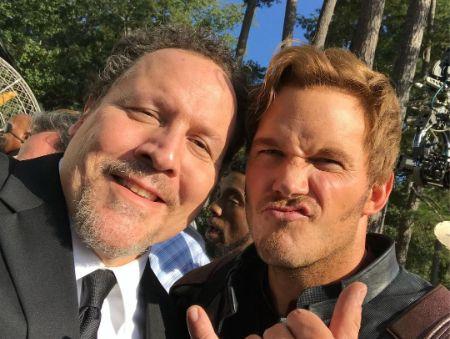 Jon Favreau with Chris Pratt