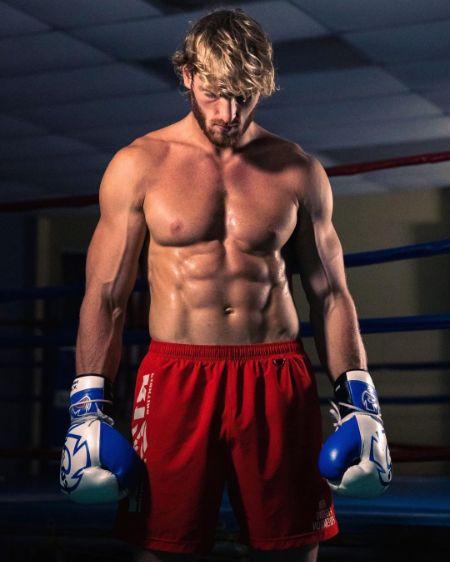 Logan Paul ready for boxing training