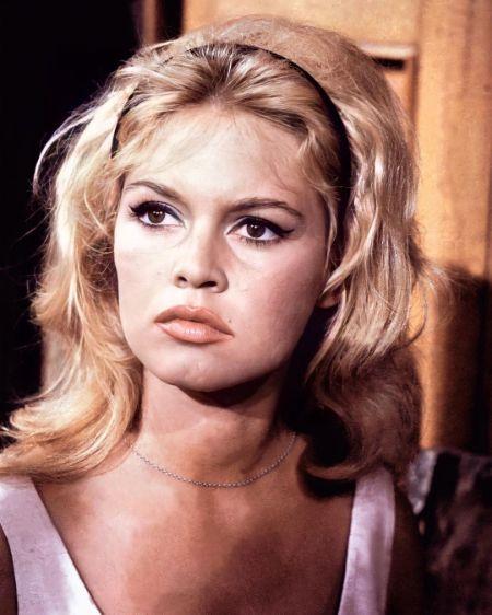 Brigitte Bardot during her prime