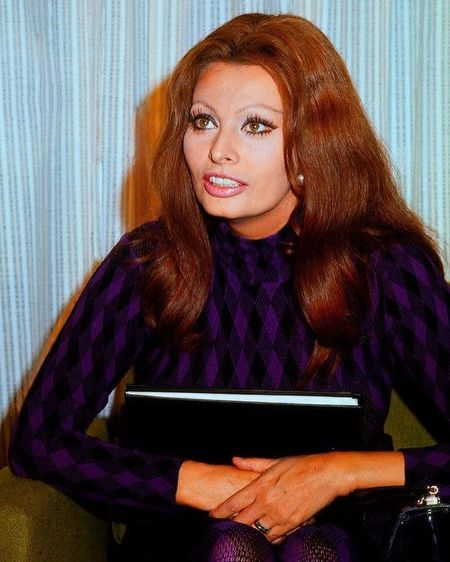 Sophia Loren in the 70s