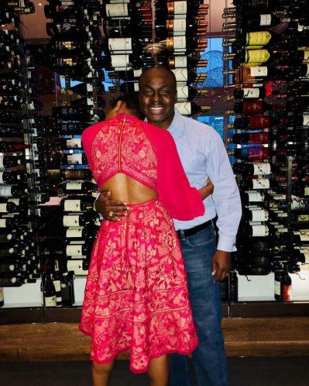 Tiffany Dufu and her husband Kojo Dufu