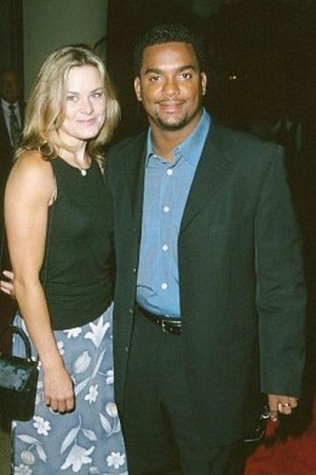 Robin Stapler and her former husband Alfonso Ribeiro