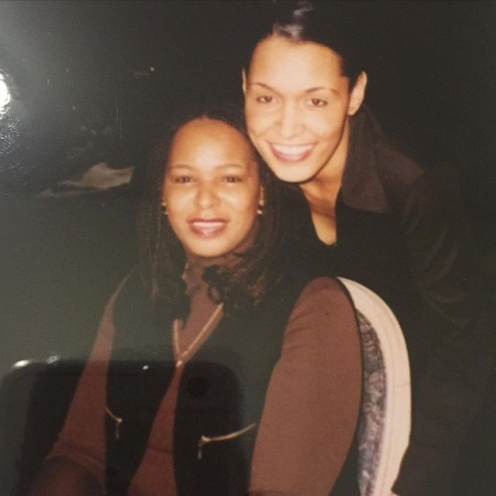 Late Barbara with her daughter Tina Smits