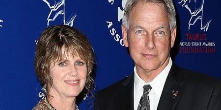 Pam Dawber with her husband Mark Harmon