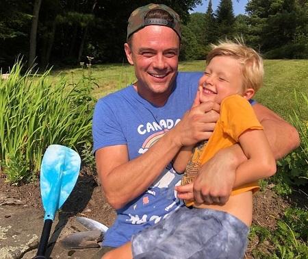Axl Jack Duhamel, The celebrity kid with his father Josh Duhamel