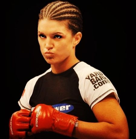 UFC athlete Gina Carano before UFC Fight