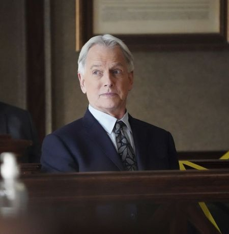 Athlete turned actor Mark Harmon on the NCIS TV show
