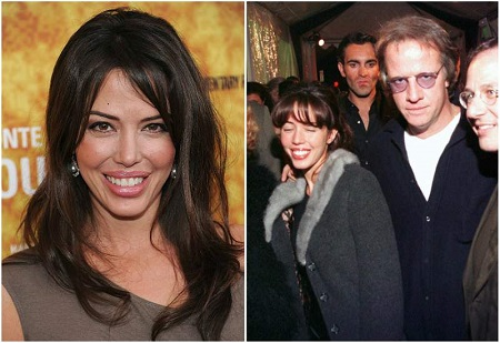 The American former actress with her ex-husband Christopher Lambert