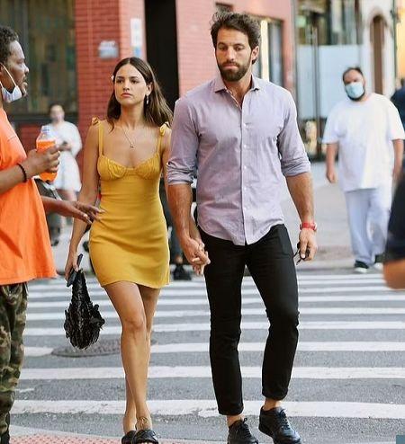 Eiza Gonzalez with her new boyfriend Paul Rabil