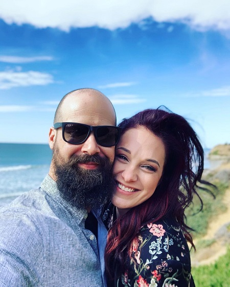 The caste member of Bar Rescue with her husband Daniel Joyce