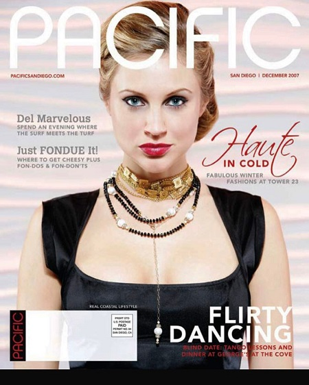 Sunshine Deia Tutt appears on the cover of magazines