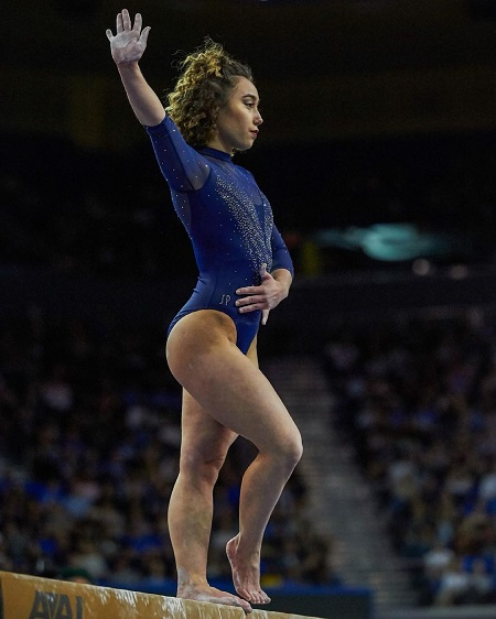 Katelyn Ohashi is a winner of the 2013 American cup