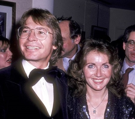 John Denver and wife Annie Martell attend the Opening Night Exhibitions