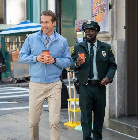 Ryan Reynolds and Lil Rel Howery on the movie Free Guy
