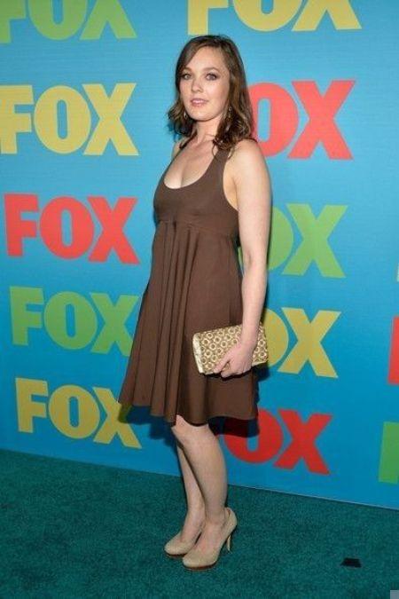 Ryan Howard Young's wife Virginia Kull appears on Fox Programming Presentation