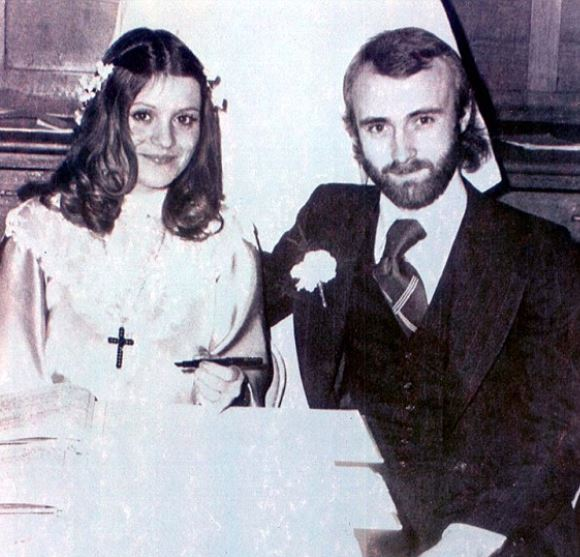 Andrea and Phil During their Wedding.