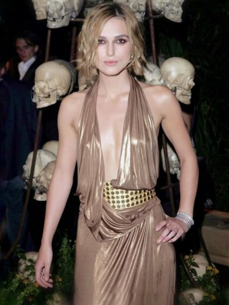 Keira Knightley at the opening night of Pirates of the Caribbean Dead Man's Chest in a stunning outfit