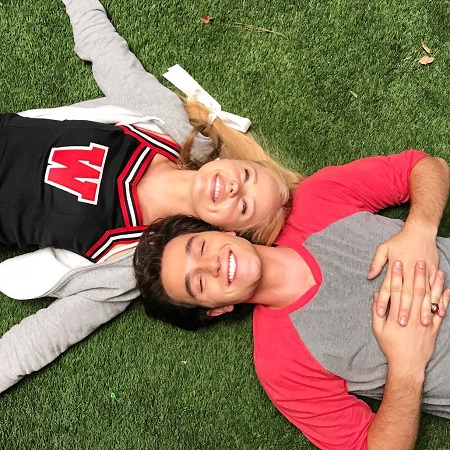 Cameron with his co-star off Heathers