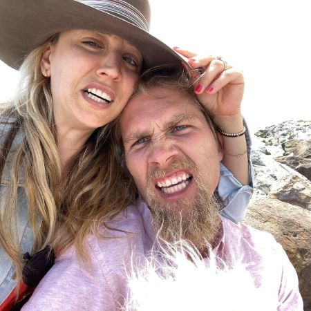 Kaley Cuoco and her ex-husband Karl Cook