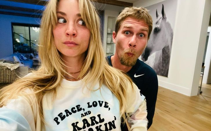 Kaley Cuoco and her former Husband