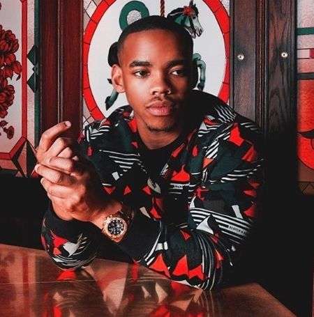 Joivan Wade in a casual outfit