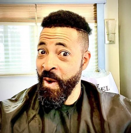 Timon Kyle Durrett took the selfie after a haircut