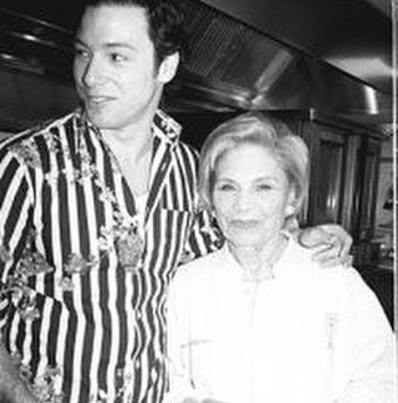 Rocco DiSpirito took this picture with his late mother Nicolina DiSpirito