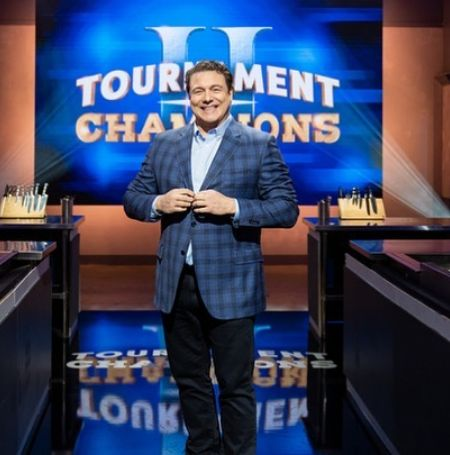 Rocco DiSpirito was hosting cooking show Tournament of Champions